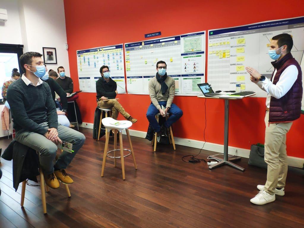 séminaire entreprise ecole pop lean management